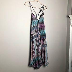 Anthropologie Akemi + Kin boho trapeze dress